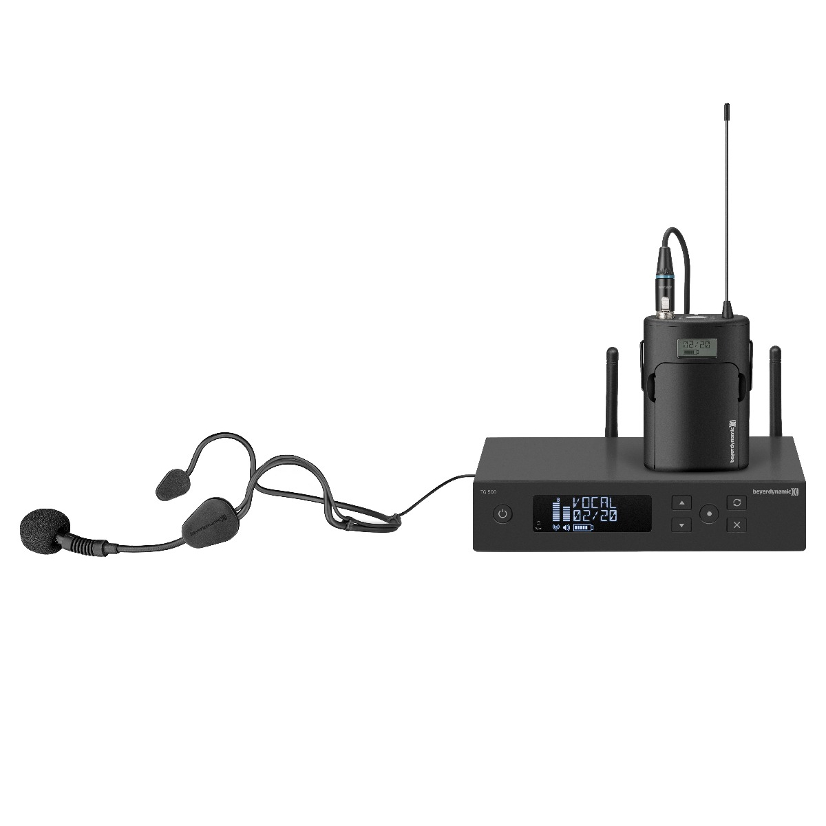 Wireless Headset Microphone Set Beyerdynamic Tg 534